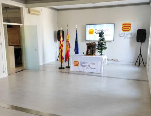 Nueva sede de «Cataluña Suma Por España» en Barcelona