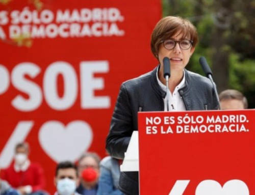 Comunicado de repulsa mitin PSOE con la directora general de la Guardia Civil