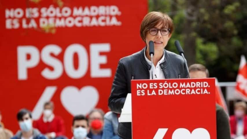 María Gamez PSOE Guardia Civil