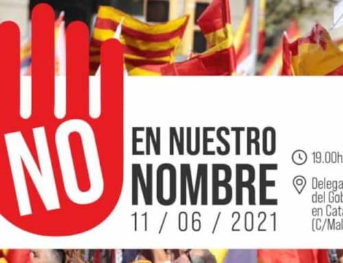 Cataluña Suma por España estará frente a la Delegación del Gobierno en Barcelona contra los indultos