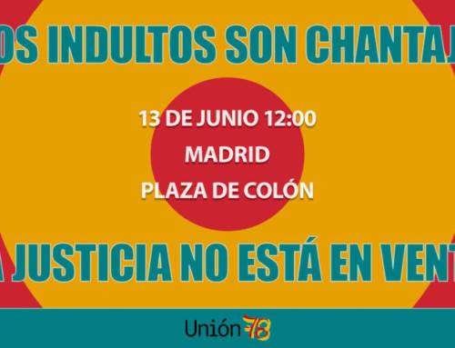 Cataluña Suma por España estará en la Plaza Colón de Madrid contra los indultos