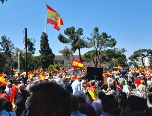 Cataluña Suma por España va a la concentración de Colón convocada por Unión78