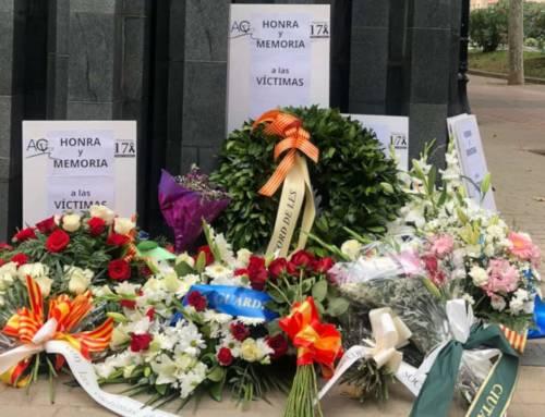 Cataluña Suma por España asiste al 34º homenaje en Barcelona por las víctimas del terrorismo organizado por ACVOT