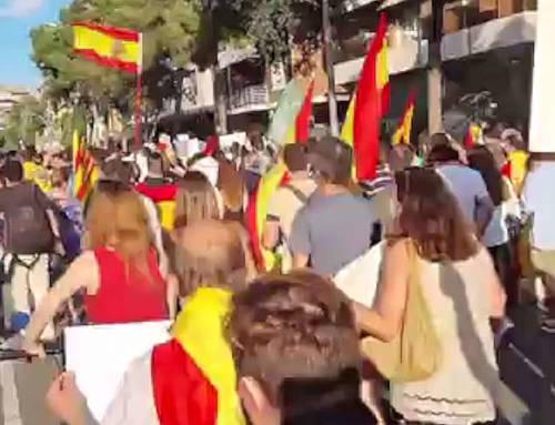Vídeo del Pasacalles de Artós en contra de los indultos a los políticos golpistas