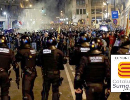 JUPOL solicita el reconocimiento como baja en acto de servicio para los policías heridos en las protestas del 1-O en Cataluña