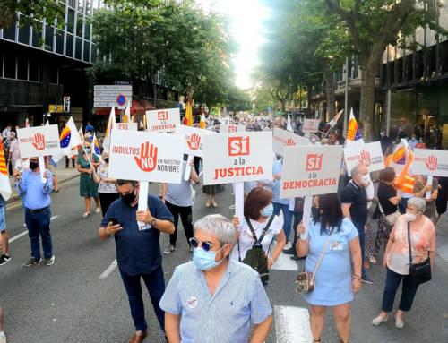 """Concentración del 11 de junio """"Indultos No"""" en Barcelona"""