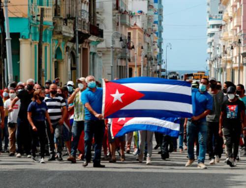 Cataluña Suma por España apoya a los manifestantes cubanos