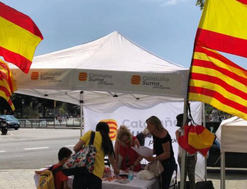 Puesta en marcha de la campaña de carpas Cataluña Suma
