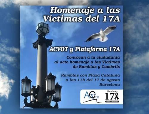 Cataluña Suma por España irá al homenaje de las víctimas de Ramblas y Cambrils